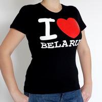 """Цішотка """"I Love Belarus"""" (жаночая)"""