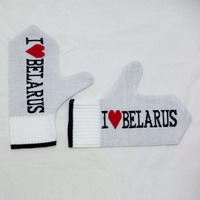 """Рукавіцы """"I Love Belarus"""""""