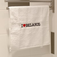 """Рушнік """"I Love Belarus"""""""