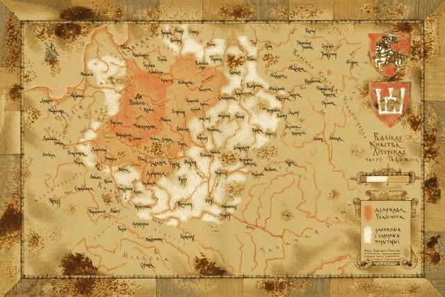 Краўцэвіч Алесь. Гедымін (1316 – 1341). Каралеўства Літвы і Русі. Форзац кнігі