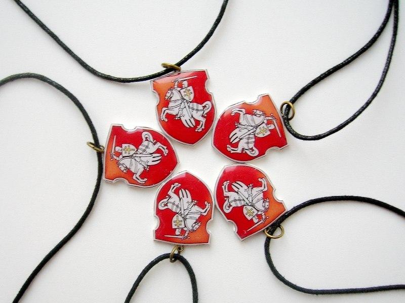 Кулён handmade нацыянальны беларускі герб ''Пагоня''