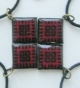 Кулён handmade з элементам нацыяналльнага арнаменту (сымбаль яднання сонца і зям