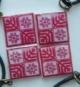 Кулён handmade з элементам нацыянальнага арнаменту (сымбаль святога дрэва і раду