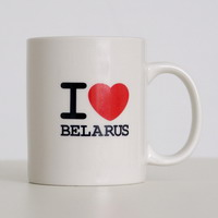 """Кубак керамічны """"I Love Belarus"""" (вышэйшы)"""