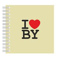 """Нататнік """"I Love BY"""""""
